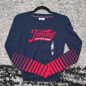 NWT Tommy Hilfiger cropped long sleeve